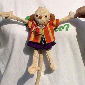 Barefoot Barbara Sansoni toys サル