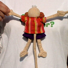 Barefoot Barbara Sansoni toys モンキー