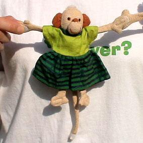 Barefoot Barbara Sansoni toys 猿